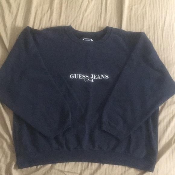 1d59a3df3 Guess Shirts | 90s Crewneck Sweatshirt | Poshmark